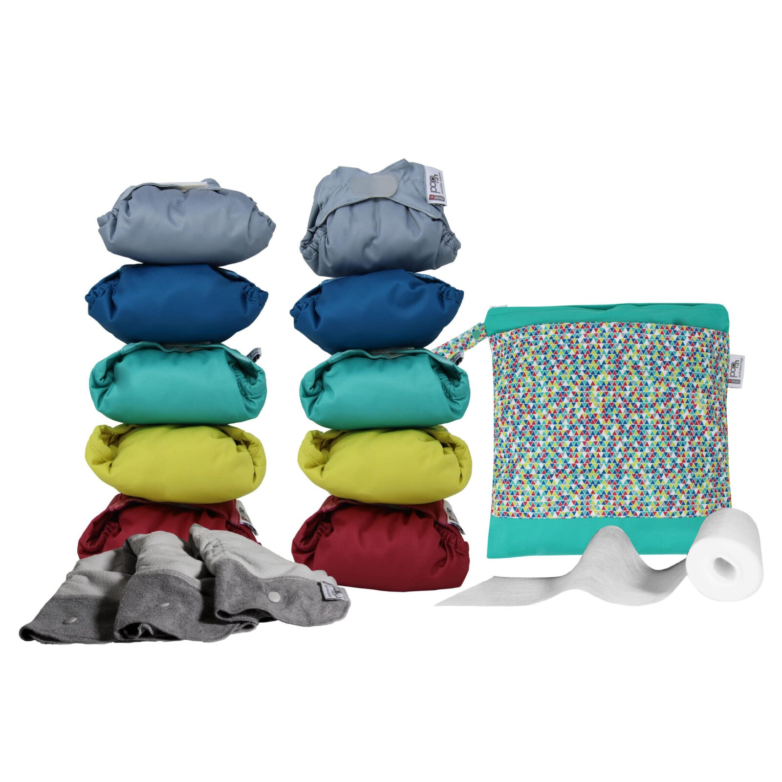 Pack Couches lavables Middle box close