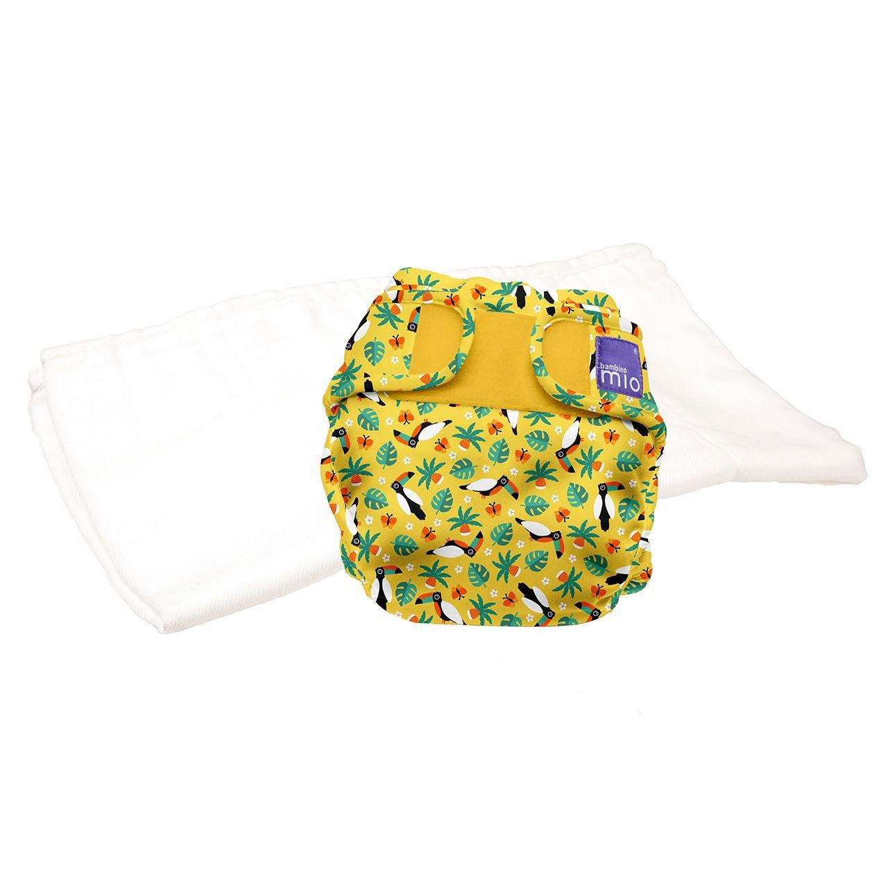 TE2 couche lavable toucan