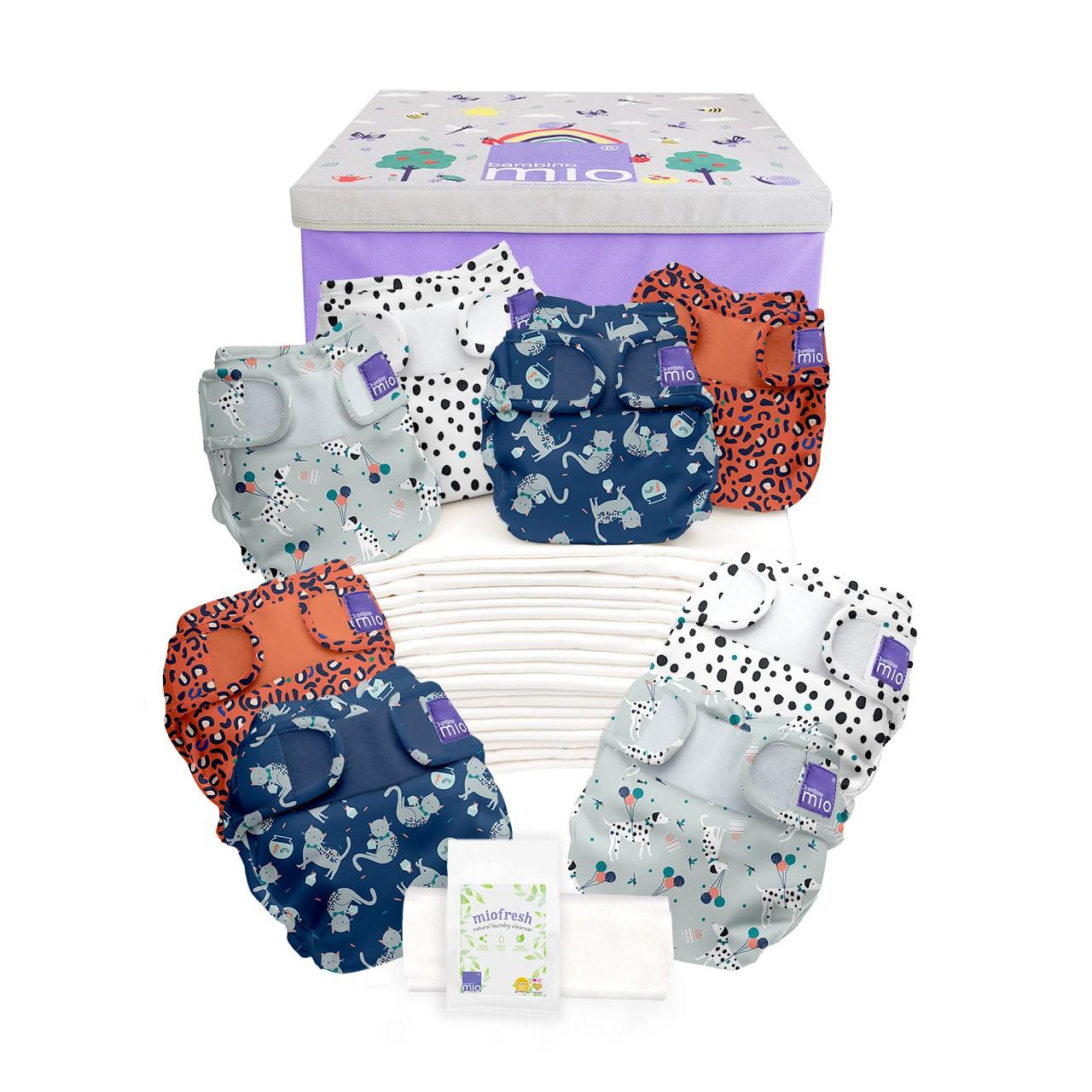 pack couches lavables bambinomio de la naissance à la propreté