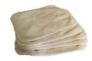 lingettes lavables bambou