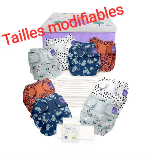 pack couches lavables TE2 mioduo