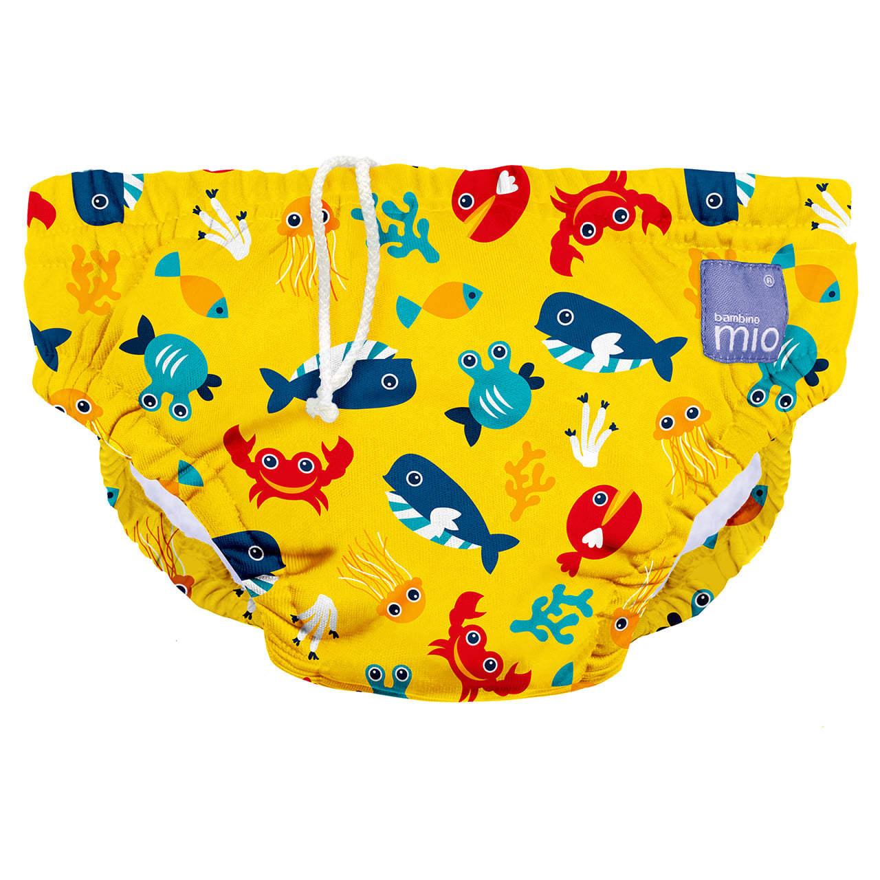 couche bain lavable_eau profonde jaune
