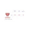 FR culottes d'apprentissage diagramme des tailles (potty training pants size chart)