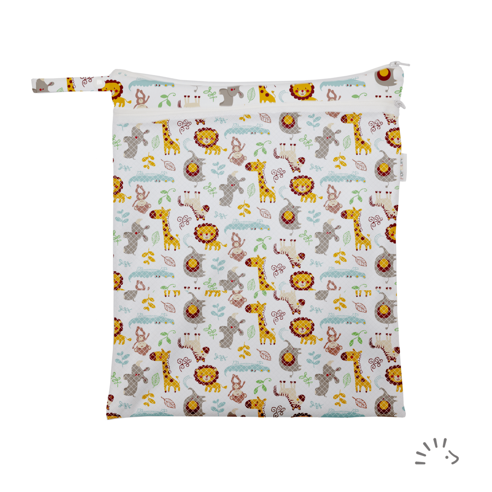 sac à couche lavable Wildlife popolini