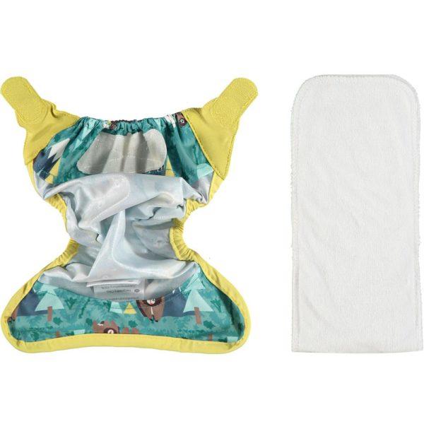 Couche lavable newborn close pop in-TE2