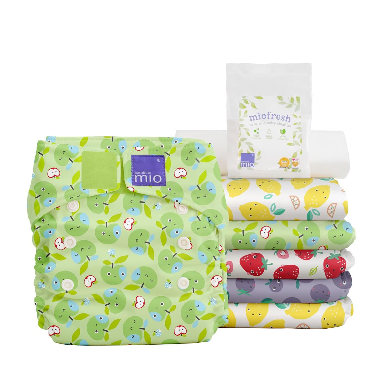Pack couche lavables Miosolo BambinoMIo